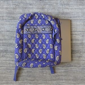 Vera Bradley Laptop Backpack, Simply Violet